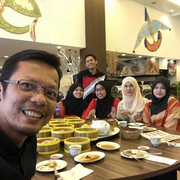 Dim Sum bersama AJK Graduasi KBP